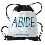 Abide Drawstring Bag