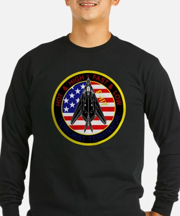 f-117_patch_f117.png Long Sleeve T-Shirt