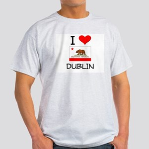 I Love Dublin California T-Shirt