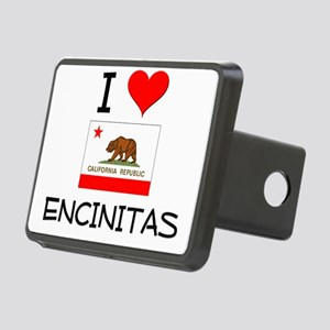 I Love Encinitas California Hitch Cover