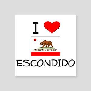 I Love Escondido California Sticker