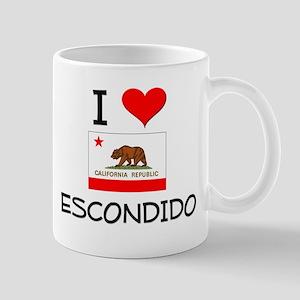 I Love Escondido California Mugs