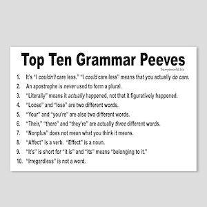 Grammar Peeves Postcards (Package of 8)