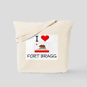I Love Fort Bragg California Tote Bag