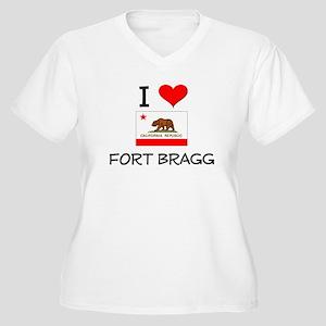 I Love Fort Bragg California Plus Size T-Shirt