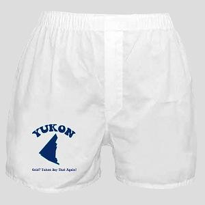 Yukon Cold? Yukon Say That Ag Boxer Shorts