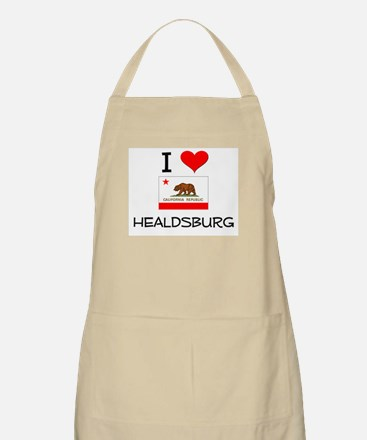 I Love Healdsburg California Apron