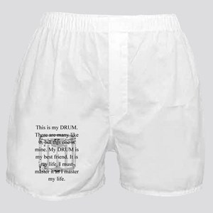 This is my drum -- new items Boxer Shorts