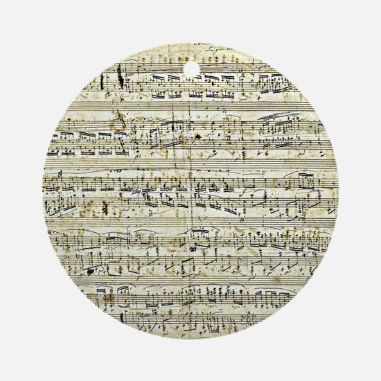 Chopin - Polonaise Round Ornament