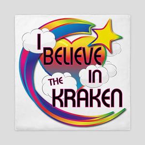 I Believe In The Kraken Cute Believer Design Queen