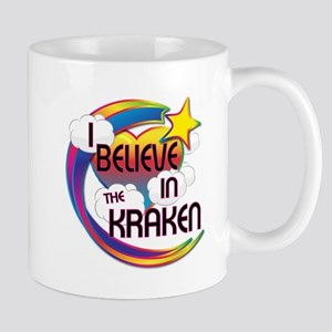 I Believe In The Kraken Cute Believer Design Mug