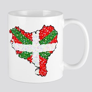 Basque Country Pointillized Mug