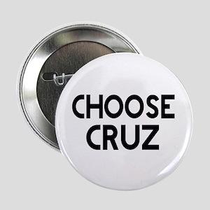 "CHOOSE CRUZ 2.25"" Button (100 pack)"