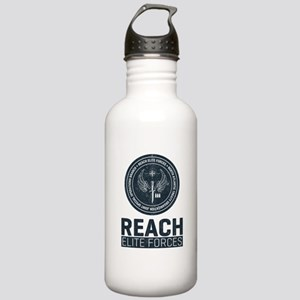 Reach Elite Forces Portrait Logo Sports Water Bott