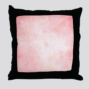Pink Watercolor Throw Pillow