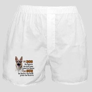 Beware of Dog/Gun (German Shepherd) Boxer Shorts