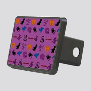 Halloween mixed pattern Hitch Cover