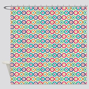 Colorful Circles Shower Curtain