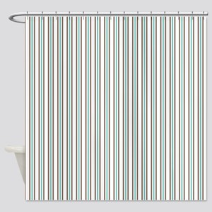 Vertical Stripes Shower Curtain