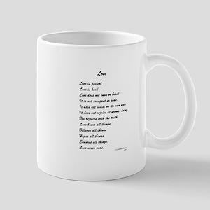 Youthful Font Love is Patient 11 oz Ceramic Mug