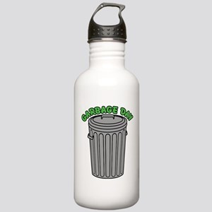 Garbage Day Trash Can Water Bottle