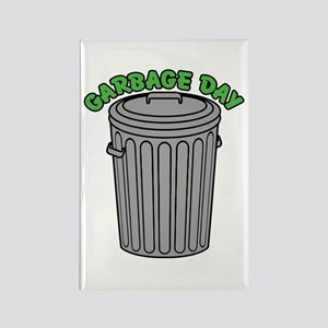 Garbage Day Trash Can Magnets