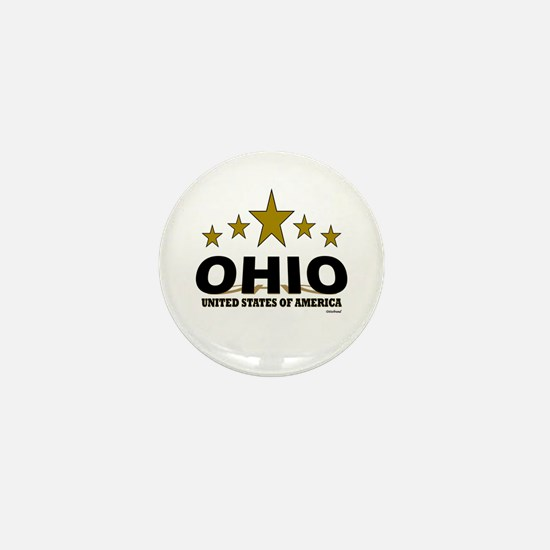 Ohio U.S.A. Mini Button