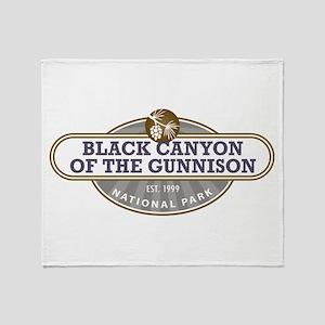 Black Canyon o the Gunnison National Park Throw Bl