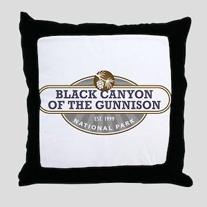 Black Canyon o the Gunnison National Park Throw Pi