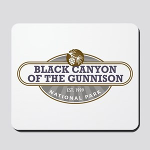 Black Canyon o the Gunnison National Park Mousepad
