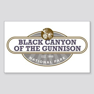 Black Canyon o the Gunnison National Park Sticker