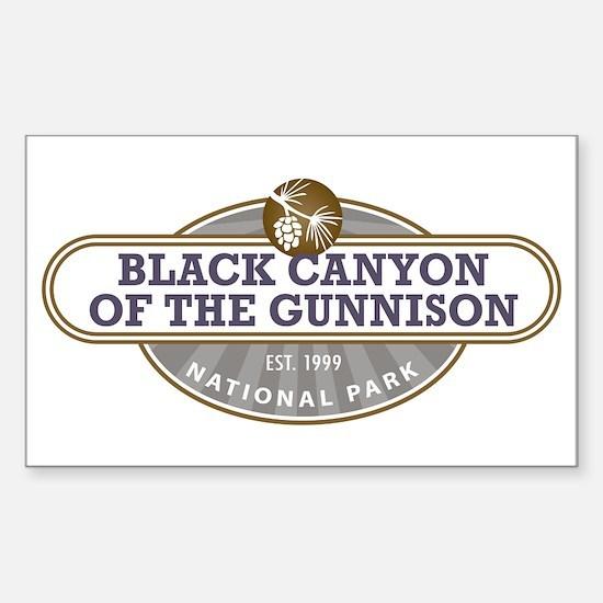 Black Canyon o the Gunnison National Park Decal