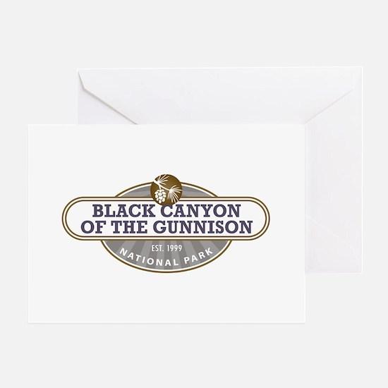 Black Canyon o the Gunnison National Park Greeting