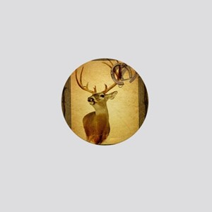 western country deer Mini Button