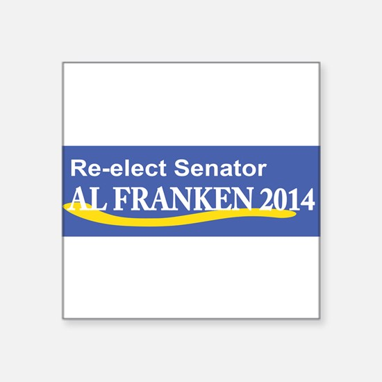 Reelect Senator Al Franken 2014 Sticker