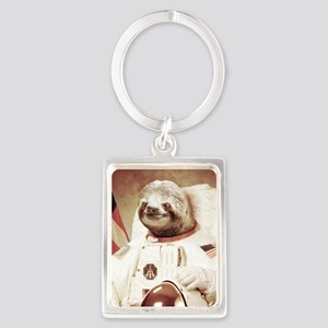 Astronaut Slot Portrait Keychain