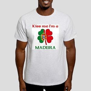 Madeira Family Ash Grey T-Shirt