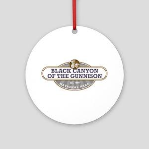 Black Canyon o the Gunnison National Park Ornament