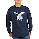 Shrine Logo - solid Long Sleeve Dark T-Shirt