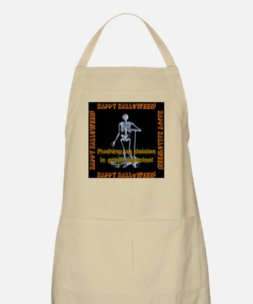 Pushing Up Daisies Is Great Exercise Light Apron
