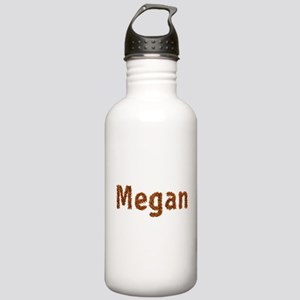 Megan Fall Leaves Water Bottle