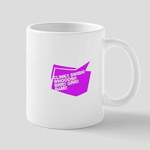 Clink!! Swish! Whooosh BRR!! GRR!! BAM!!.violett M