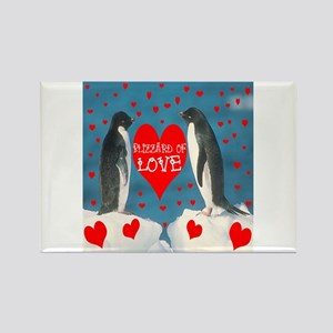 BLIZZARD OF LOVE Rectangle Magnet