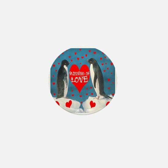 BLIZZARD OF LOVE Mini Button
