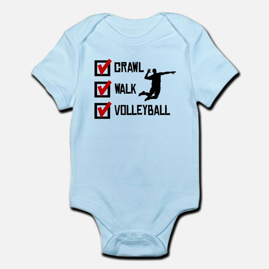Crawl Walk Volleyball Body Suit