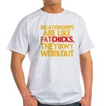 Relationships are like fat chicks, they dont worko