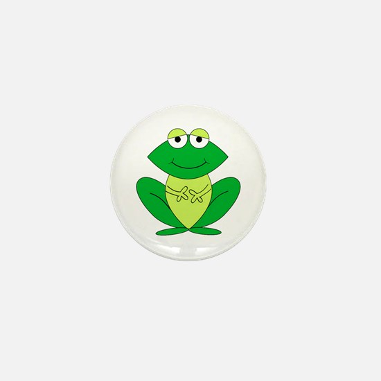 Cartoon Frog Mini Button (10 pack)