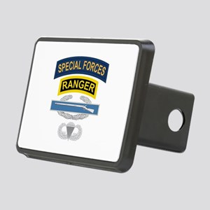 SF Ranger CIB Airborne Rectangular Hitch Cover