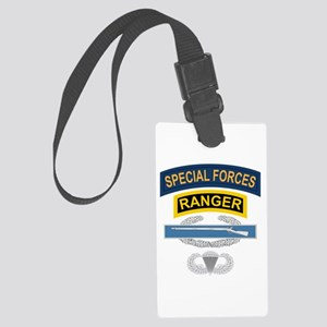 SF Ranger CIB Airborne Large Luggage Tag