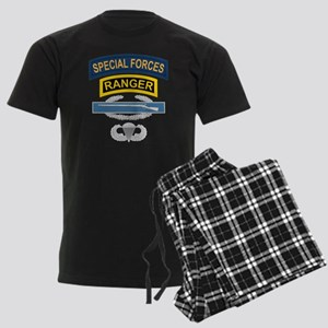 SF Ranger CIB Airborne Men's Dark Pajamas